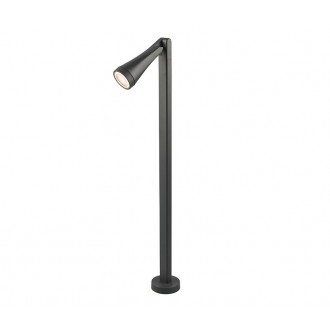 NOWODVORSKI 9563 | OttawaN Nowodvorski podna svjetiljka 100cm elementi koji se mogu okretati 1x GU10 IP44 grafit