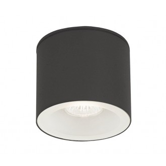 NOWODVORSKI 9565 | Hexa Nowodvorski stropne svjetiljke svjetiljka 1x GU10 IP44 grafit, bijelo