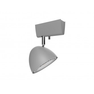 NOWODVORSKI 9590 | Vespa Nowodvorski zidna, stropne svjetiljke svjetiljka elementi koji se mogu okretati 1x GU10 / ES111 srebrno