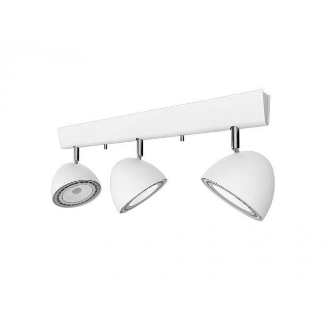 NOWODVORSKI 9592 | Vespa Nowodvorski zidna, stropne svjetiljke svjetiljka elementi koji se mogu okretati 3x GU10 / ES111 bijelo