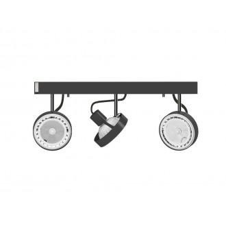 NOWODVORSKI 9596 | Cross Nowodvorski zidna, stropne svjetiljke svjetiljka elementi koji se mogu okretati 3x GU10 / ES111 grafit, bijelo