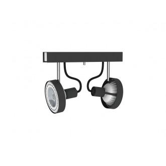 NOWODVORSKI 9597 | Cross Nowodvorski zidna, stropne svjetiljke svjetiljka elementi koji se mogu okretati 2x GU10 / ES111 grafit, bijelo