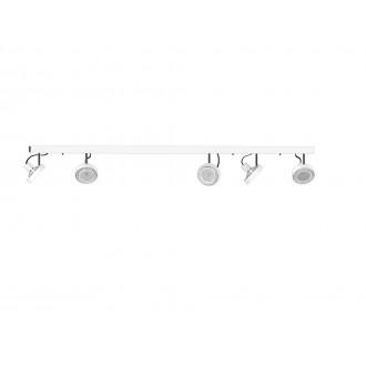 NOWODVORSKI 9604 | Cross Nowodvorski zidna, stropne svjetiljke svjetiljka elementi koji se mogu okretati 5x GU10 / ES111 bijelo, grafit