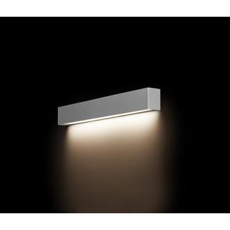 NOWODVORSKI 9613 | Straight-LED Nowodvorski zidna svjetiljka 1x G13 / T8 800lm 3000K sivo