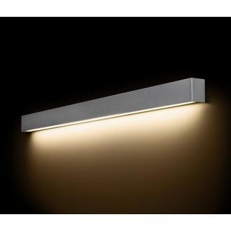 NOWODVORSKI 9615 | Straight-LED Nowodvorski zidna svjetiljka 1x G13 / T8 1600lm 3000K sivo