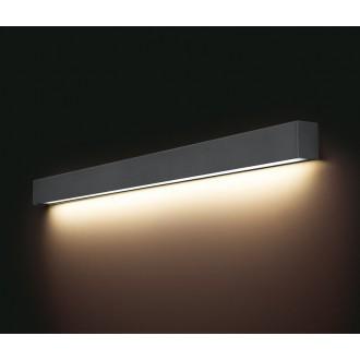 NOWODVORSKI 9616 | Straight-LED Nowodvorski zidna svjetiljka 1x G13 / T8 1600lm 3000K grafit