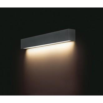 NOWODVORSKI 9618 | Straight-LED Nowodvorski zidna svjetiljka 1x G13 / T8 800lm 3000K grafit