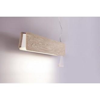 NOWODVORSKI 9635 | OsloN Nowodvorski visilice svjetiljka s poteznim prekidačem 1x G13 / T8 800lm 3000K bezbojno, bijelo
