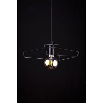 NOWODVORSKI 9667 | Fiord Nowodvorski visilice svjetiljka 1x E27 crno
