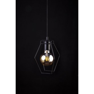 NOWODVORSKI 9670 | Fiord Nowodvorski visilice svjetiljka 1x E27 crno