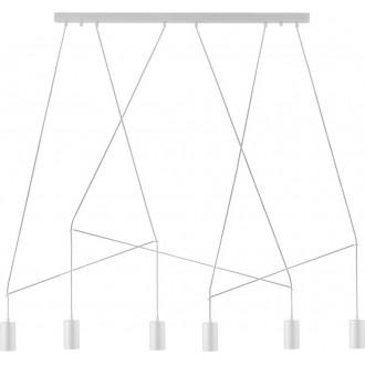 NOWODVORSKI 9674 | Imbria Nowodvorski visilice svjetiljka 6x GU10 bijelo