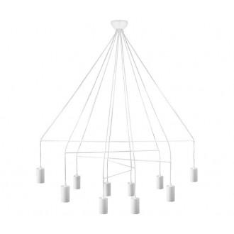 NOWODVORSKI 9678 | Imbria Nowodvorski visilice svjetiljka 10x GU10 bijelo