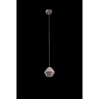 NOWODVORSKI 9697 | Geometric Nowodvorski visilice svjetiljka 1x GU10 sivo