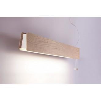 NOWODVORSKI 9698 | OsloN Nowodvorski visilice svjetiljka s poteznim prekidačem 1x G13 / T8 1200lm 3000K bezbojno, bijelo