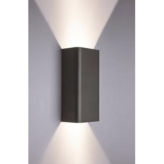 NOWODVORSKI 9707 | Bergen Nowodvorski zidna svjetiljka 2x GU10 sivo