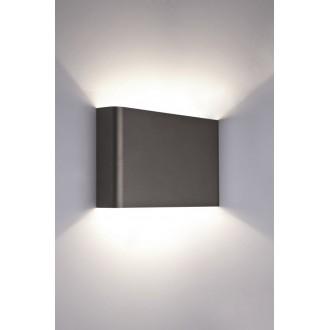 NOWODVORSKI 9710 | HagaN Nowodvorski zidna svjetiljka 2x G9 sivo