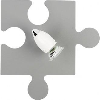 NOWODVORSKI 9730 | Puzzle Nowodvorski zidna, stropne svjetiljke svjetiljka elementi koji se mogu okretati 1x GU10 sivo, bijelo, krom