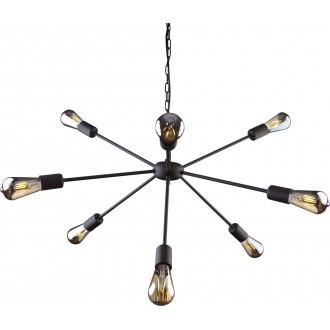 NOWODVORSKI 9734 | Rod Nowodvorski luster svjetiljka 9x E27 crno