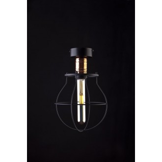 NOWODVORSKI 9741 | Manufacture Nowodvorski stropne svjetiljke svjetiljka 1x E27 crno, crveni bakar