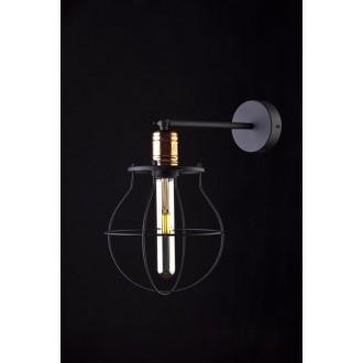 NOWODVORSKI 9742 | Manufacture Nowodvorski zidna svjetiljka elementi koji se mogu okretati 1x E27 crno, crveni bakar