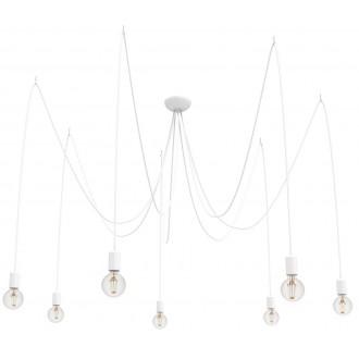 NOWODVORSKI 9743 | Spider Nowodvorski visilice svjetiljka 7x E27 bijelo