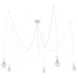NOWODVORSKI 9744 | Spider Nowodvorski visilice svjetiljka 5x E27 bijelo