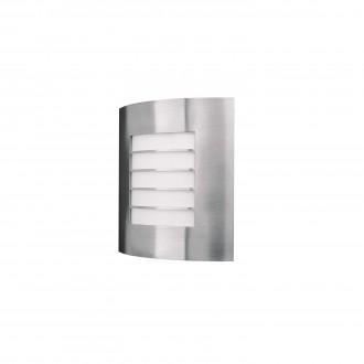 PHILIPS 01726/01/47 | Oslo Philips zidna svjetiljka 1x E27 IP44 inox, bijelo