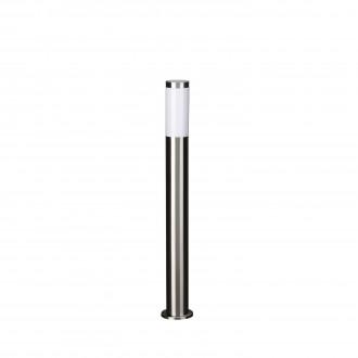 PHILIPS 01909/01/47 | Utrecht Philips podna svjetiljka 78,5cm za štednu žarulju 1x E27 IP44 inox, bijelo