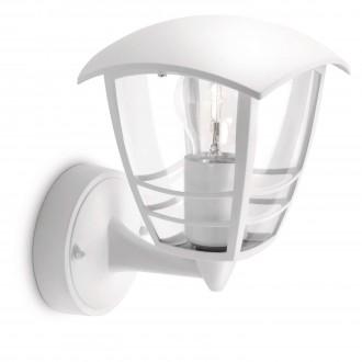 PHILIPS 15380/31/16 | CreekP Philips zidna svjetiljka 1x E27 IP44 bijelo