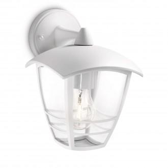 PHILIPS 15381/31/16 | CreekP Philips zidna svjetiljka 1x E27 IP44 bijelo