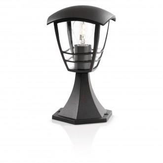 PHILIPS 15382/30/16 | CreekP Philips podna svjetiljka 30cm 1x E27 IP44 crno