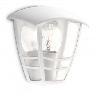 PHILIPS 15387/31/16 | CreekP Philips zidna svjetiljka 1x E27 IP44 bijelo