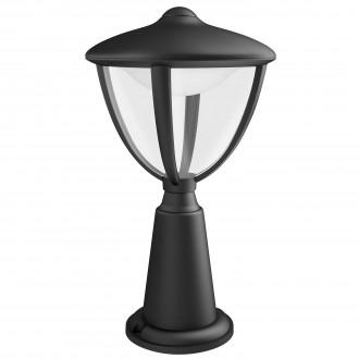 PHILIPS 15472/30/16   Robin Philips podna svjetiljka 33,5cm 1x LED 430lm 2700K IP44 crno, bijelo, prozirno