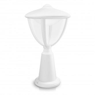 PHILIPS 15472/31/16   Robin Philips podna svjetiljka 33,5cm 1x LED 430lm 2700K IP44 bijelo, prozirno