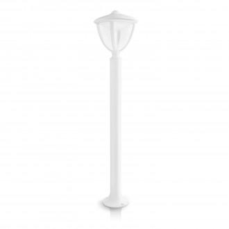PHILIPS 15473/31/16   Robin Philips podna svjetiljka 85,5cm 1x LED 430lm 2700K IP44 bijelo, prozirno