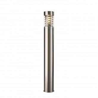 PHILIPS 16192/47/10   Birmingham Philips podna svjetiljka 79,5cm za štednu žarulju 1x E27 IP44 inox, prozirno