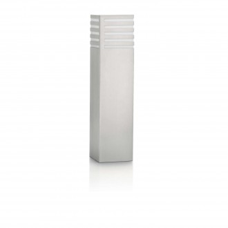 PHILIPS 16414/47/16 | Veranda Philips podna svjetiljka 40cm 1x E27 1320lm 2700K IP44 plemeniti čelik, čelik sivo