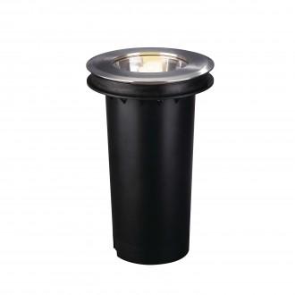 PHILIPS 17020/47/10 | Acapulco Philips ugradbena svjetiljka za štednu žarulju Ø175mm 1x E27 IP67 inox