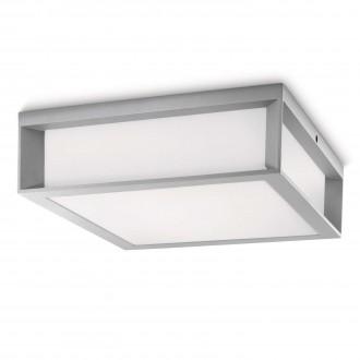 PHILIPS 17184/87/16 | Skies Philips zidna, stropne svjetiljke svjetiljka 2x E27 1620lm 2700K IP44 svjetlo siva, bijelo
