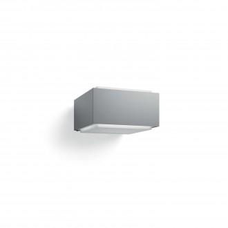 PHILIPS 17337/87/PN | Hedgehog Philips zidna svjetiljka četvorougaoni 1x E27 IP44 svjetlo siva, bijelo