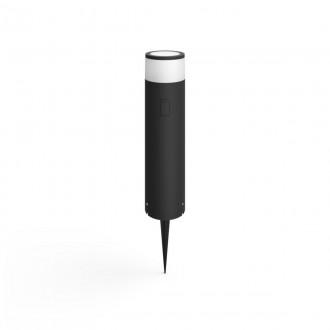PHILIPS 17451/30/P7 | PHILIPS-hue-Calla Philips podna BASE hue smart rasvjeta + LED napojna jedinica cilindar 40cm jačina svjetlosti se može podešavati, sa podešavanjem temperature boje, promjenjive boje 1x LED 600lm 2700 <-> 6500K IP65 crno, bijelo