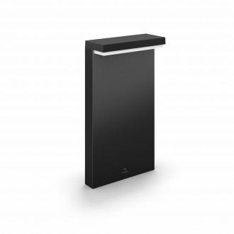 PHILIPS 17455/30/P7 | PHILIPS-hue-Nyro Philips podna hue smart rasvjeta četvorougaoni 4cm jačina svjetlosti se može podešavati, sa podešavanjem temperature boje, promjenjive boje 1x LED 1000lm 2700 <-> 6500K IP44 crno, bijelo