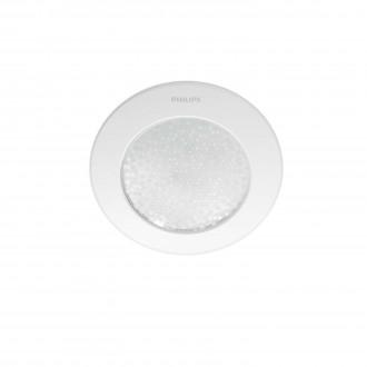 PHILIPS 31155/31/PH | PHILIPS-hue_Phoenix Philips ugradbene svjetiljke hue smart rasvjeta okrugli jačina svjetlosti se može podešavati, sa podešavanjem temperature boje 140x140mm 1x LED 447lm 2200 <-> 6500K bijelo