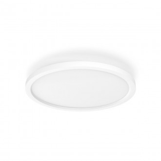 PHILIPS 32164/31/P6 | PHILIPS-hue-Aurelle Philips stropne svjetiljke hue DIM portable prekidač + hue smart rasvjeta okrugli daljinski upravljač jačina svjetlosti se može podešavati, sa podešavanjem temperature boje, Bluetooth 1x LED 2200lm 2200 <->