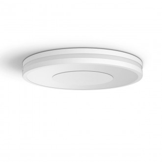 PHILIPS 32610/31/P6 | PHILIPS-hue-Being Philips stropne svjetiljke hue DIM portable prekidač + hue smart rasvjeta okrugli daljinski upravljač jačina svjetlosti se može podešavati, sa podešavanjem temperature boje, Bluetooth 1x LED 2400lm 2200 <-> 65