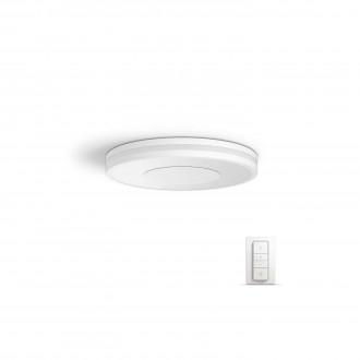 PHILIPS 32610/31/P7 | PHILIPS-hue_Being Philips stropne svjetiljke hue smart rasvjeta okrugli daljinski upravljač jačina svjetlosti se može podešavati, sa podešavanjem temperature boje 1x LED 2400lm 2200 <-> 6500K bijelo