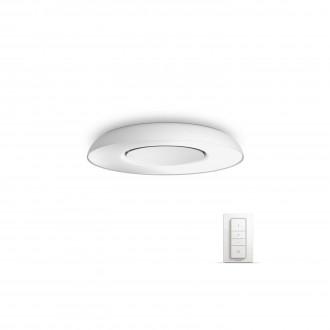 PHILIPS 32613/31/P7 | PHILIPS-hue-Still Philips stropne svjetiljke hue smart rasvjeta okrugli daljinski upravljač jačina svjetlosti se može podešavati, sa podešavanjem temperature boje 1x LED 2400lm 2200 <-> 6500K bijelo