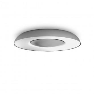 PHILIPS 32613/48/P6 | PHILIPS-hue-Still Philips stropne svjetiljke hue DIM portable prekidač + hue smart rasvjeta okrugli daljinski upravljač jačina svjetlosti se može podešavati, sa podešavanjem temperature boje, Bluetooth 1x LED 2400lm 2200 <-> 65