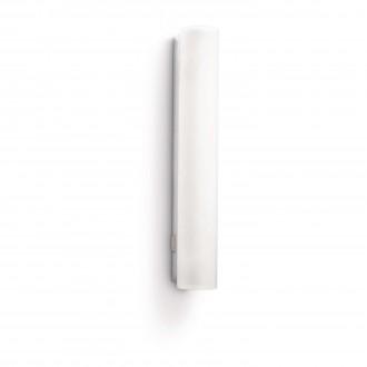 PHILIPS 34093/11/16 | Vitalise Philips zidna svjetiljka s prekidačem za štednu žarulju 1x G5 / T5 470lm 2700K IP44 bijelo