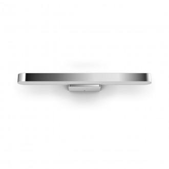 PHILIPS 34177/11/P6 | PHILIPS-hue-Adore Philips zidna hue DIM portable prekidač + hue smart rasvjeta daljinski upravljač jačina svjetlosti se može podešavati, promjenjive boje, sa podešavanjem temperature boje, Bluetooth 1x LED 3000lm 2200 <-> 6500K